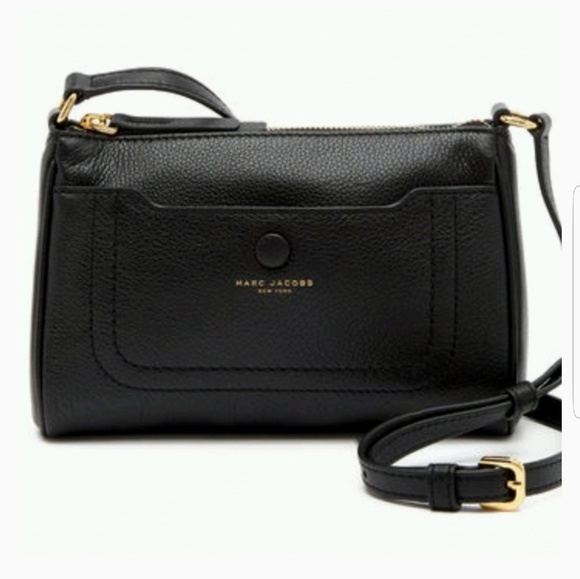 09f0392630f0 Marc Jacobs Empire City Black Leather Crossbody. Listing Price   110